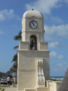 Clock Tower at Worth Avenue., Palm Beach, Florida