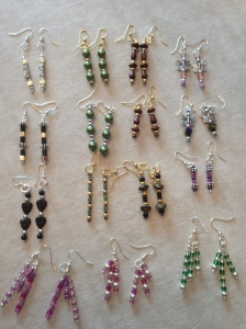 BASIC, Basic, basic Beaded Earrings!