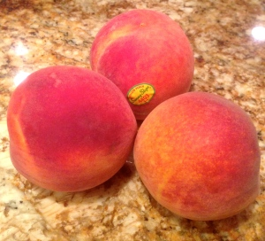 """Doctor-approved"" size PEACHES!"