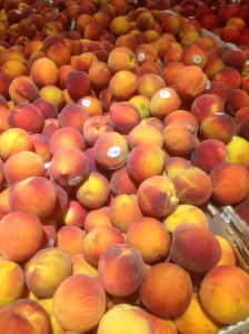 PEACHES for the masses!